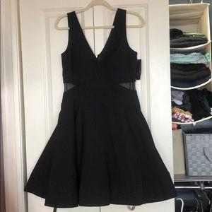 NWT Black Cocktail Dress by Aqua